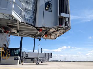 Flughafen BER Fluggastbrücken