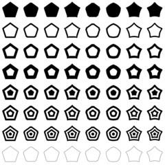 Pentagon set