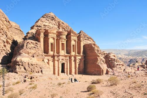 Papiers peints Egypte Ad Deir, The Monastery Temple, Petra, Jordan