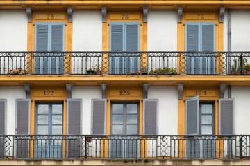 Balconies of Plaza de la Constitucion