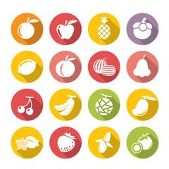fruits icon.flat theme.