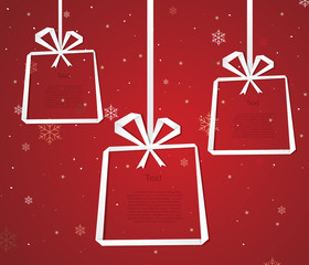 Gift box infographic