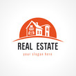 Real estate logo sun - 70306554