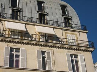 un immeuble de Paris