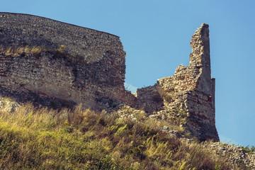 Fortress ruins in Rasnov, Romania