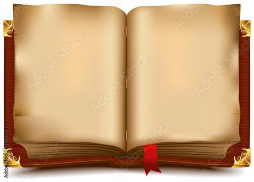 Рисунок развернутой книги