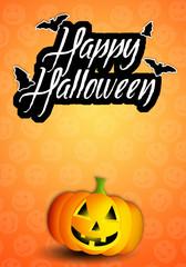 Pumpkin for Happy Halloween
