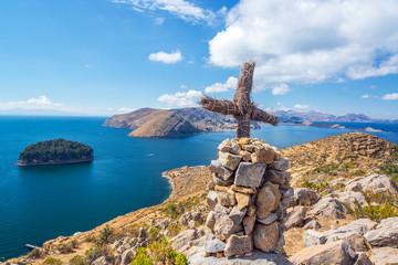 Lake Titicaca Cross