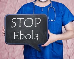 Stop Ebola Virus Pandemie Epidemie