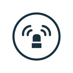 flasher circle background icon.