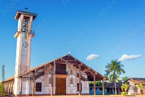 Papiers peints Amérique du Sud Church at San Ignacio