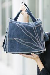 Designertasche Jeansstoff