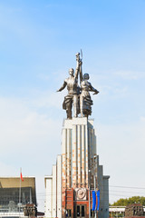 Worker and Kolkhoz Woman statue in Moscow