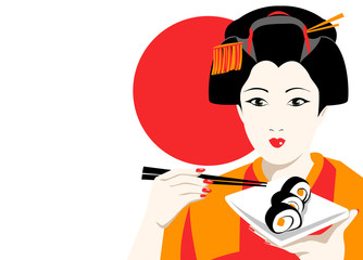Sushi geisha