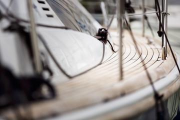 sailing ship deck