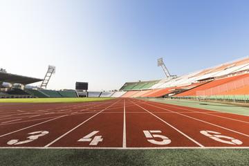 athletics track