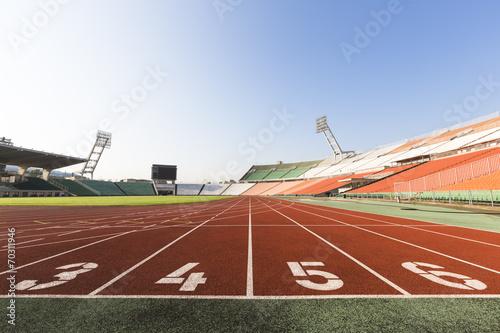 Papiers peints Jogging athletics track