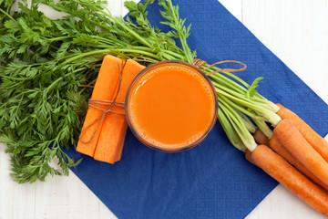 Carrot with juice