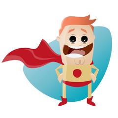 superheld lustig