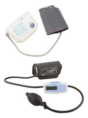 Blood pressure measuring instrument
