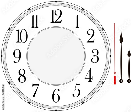 clock face - 70315961