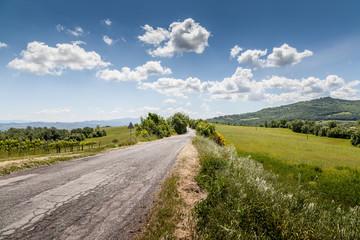 Paesaggio rurale della Toscana, Italia