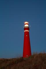lighthouse at night, Schiermonnikoog island