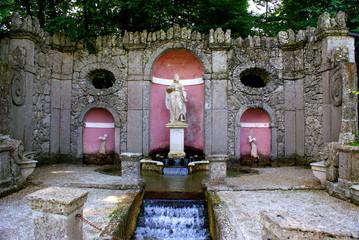 Sculpture in the Trick Fountains,Salzburg