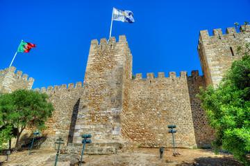 Castle Sao Jorge in Lisbon, Portugal
