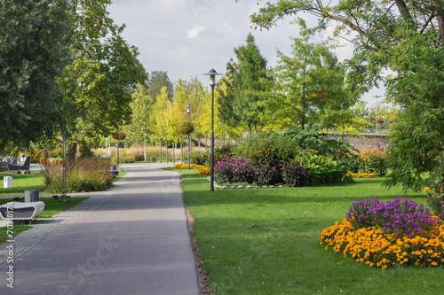 canvas print picture Kitzingen Park