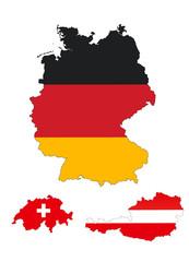 DACH - Deutschland, Österreich, Schweiz