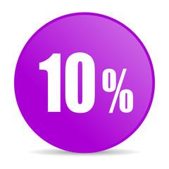 10 percent web icon
