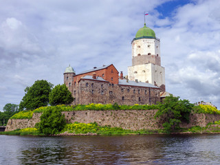 castle in Vyborg, Russia