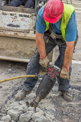 Holes machine operator laborer