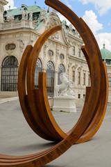 Belvedere Palace gardens Vienna
