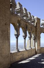 Arabian gallery in Pena palace, Sintra