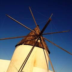 windmill in Almeria, Spain