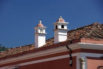 Toit à Antigua, Guatemala