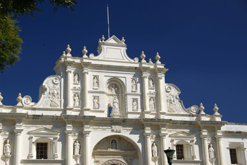 Eglise à Anitgua, Guatemala