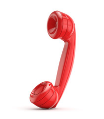 red retro (vintage) phone
