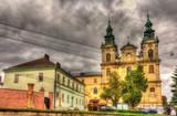 Church of St. Mary Magdalen in Lviv, Ukraine poster