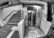 BERLIN - MAY 24, 2012: U-bahn subway station. The U-Bahn serves