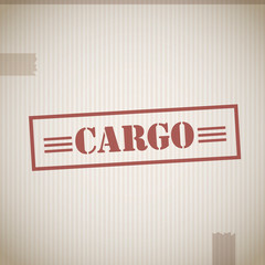 Cargo delivery stamp