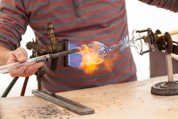 glass-blower