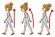 歩き方 姿勢