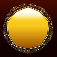 Altın renkli süs