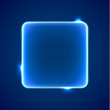 Abstract blue square placeholder