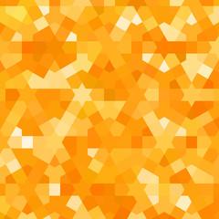 Golden autumn pattern with arabic texture