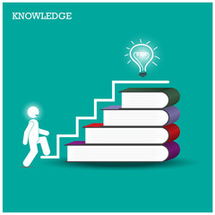 Knowledge and learning concept.