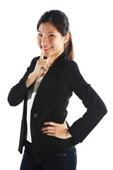Business Success Secrets or Taboo Subject Asian Woman